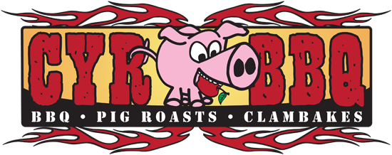 CYR BBQ, LLC is a mobile catering service specializing in BBQ, pig roasts and clambakes.